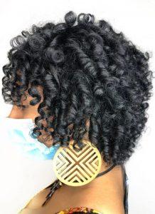 Curly haircut las vegas