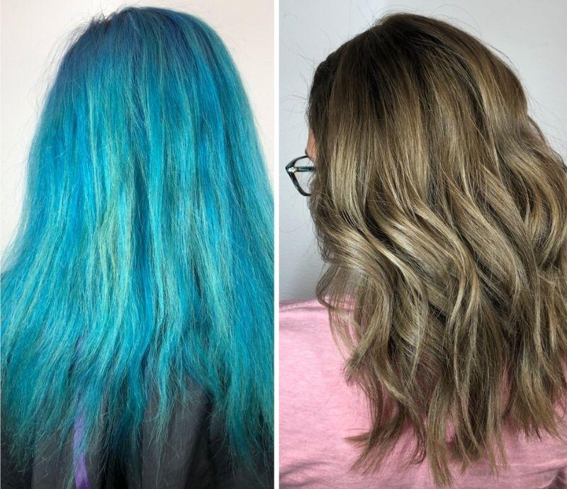 color correction hair salon las vegas